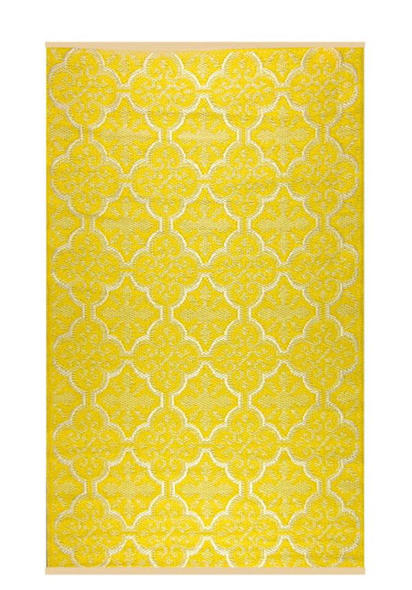 Geel goud terraskleed