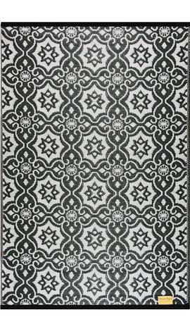 Tuinkleed zwart wit orientaal