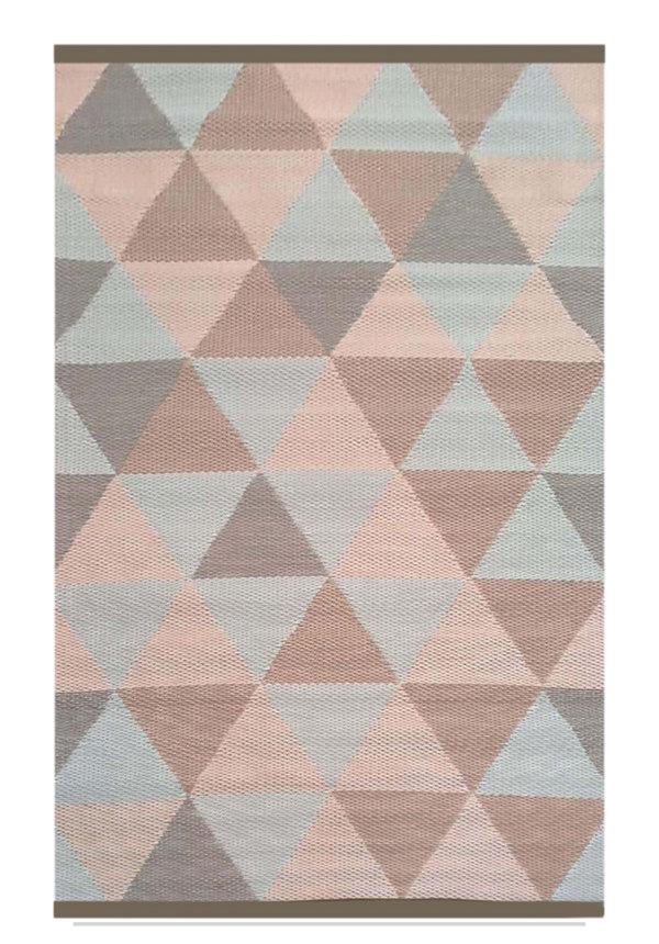 Pastel buitenkleed driehoek