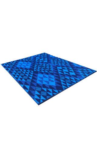 xl blauw buitenkleed