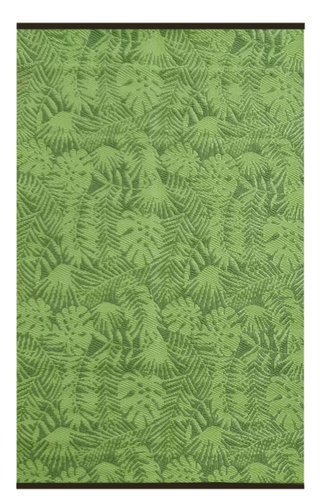 Groen jungle tuinkleed