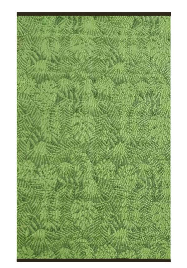 Groen jungle buitenkleed