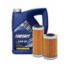Filters, vloeistoffen en olie