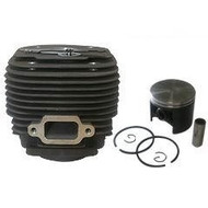 Cilinder met zuiger passend op STIHL MS070 en 090 - 58 mm