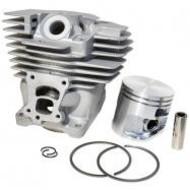 Cilinder met zuiger passend op STIHL MS261 - 44 mm