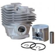 Cilinder met zuiger passend op STIHL MS341 en MS361- 47 mm