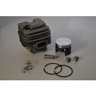Cilinder met zuiger passend op STIHL MS380 en MS381 - 52 mm