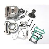 Cilinderkit 60cc met zuiger, cilinderkop, camshaft en rocker