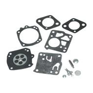 Carburateur reparatieset passend op 61, 65, 77, 162, 181, 185, 266, 268, 272, 288, 480, 1100 en 2100