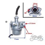 Carburateur 50 cc handchoke 4 takt AC