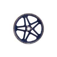 10 inch achtervelg voor step en minicrosser - blauw