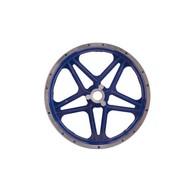 10 inch voorvelg voor step en minicrosser - blauw