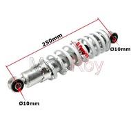 Schokdemper 25 cm (vooras) voor 110 cc quad
