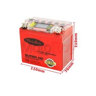 12 volt - 5 AH gel accu met display