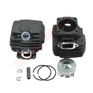 Cilinder met zuiger passend op STIHL MS028 - 46 mm