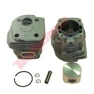 Cilinder met zuiger 44,2 mm passend op 346XP