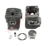 Cilinder met zuiger 40 mm passend op STIHL MS023 en MS230