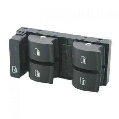 Raamschakelaar voor Audi A4, A5 en Q5 - OEM Nummer 8K0959851 - 8K0959851D