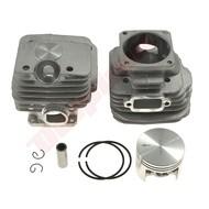 Cilinder met zuiger passend op Stihl MS038, MS380 en MS381 - 52 mm