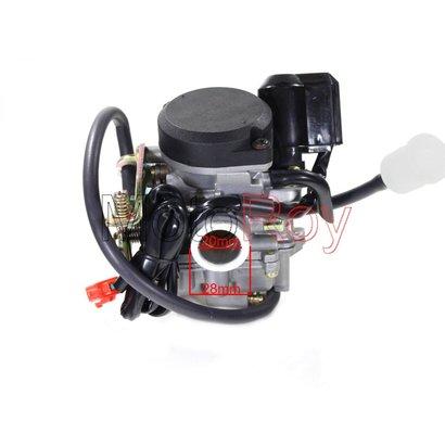 Carburateur GY6 50cc 4 takt - 20 mm