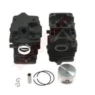 Cilinder met zuiger passend op STIHL MS270 en MS280 - 46 mm