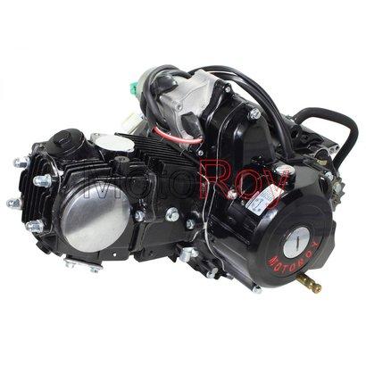125cc Quad Motorblok 3 versnellingen met Achteruit en Startmotor  Semi-Automaat