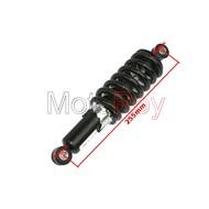Schokdemper 28 cm voor dirtbike en quad in zwart, rood en blauw