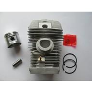 Cilinder met zuiger 40 mm passend op STIHL MS021 en  MS210