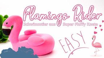 DIY Flamingo Schwimmring