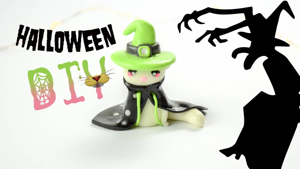 DIY The Evil Witch Cat