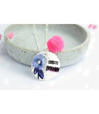 "Cute Clay ""Expecto Patronum"" - Spruch-Kette"