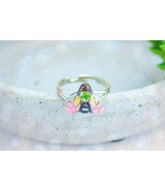 "Cute Clay ""Rosé-Biene"" - Ring"