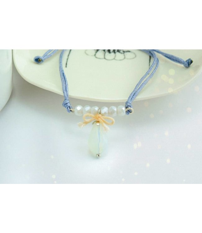 "Cute Clay ""Noble blue"" - Armband"