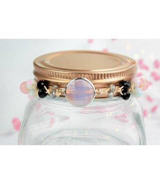 """Cute Clay """"Peach & Pink"""" - Armband"""