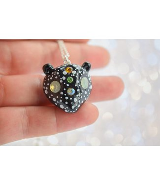 "Cute Clay ""Bear with stars"" - Kette"