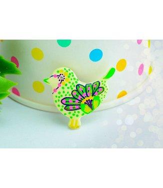 """Cute Clay """"Pastell-Vögelchen VII"""" - Magnet"""