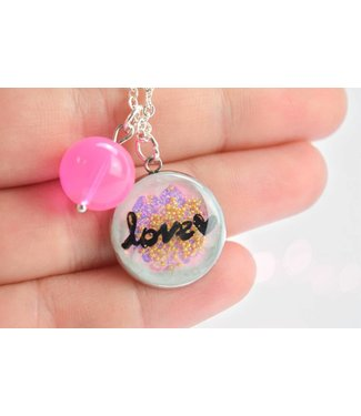 "Cute Clay ""Love"" - Kette"