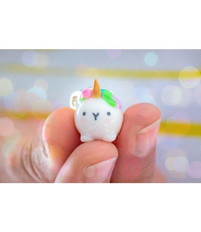 "Cute Clay ""Mini-Einhorn III"" - Charm/Anhänger"