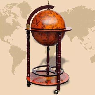 vidaXL Globebar hout