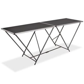 vidaXL Behangtafel inklapbaar 200x60x78 cm MDF en aluminium