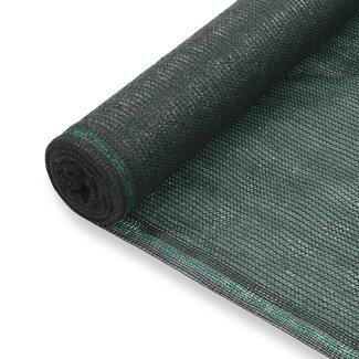 vidaXL Tennisnet 2x100 m HDPE groen