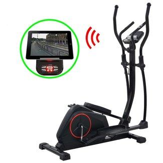 vidaXL Crosstrainer magnetisch met hartslagmeter programmeerbaar XL