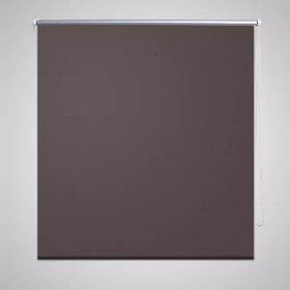 vidaXL Rolgordijn verduisterend 120 x 230 cm koffiebruin