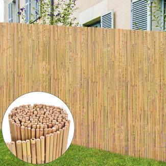 vidaXL Hek 300x125 cm bamboe