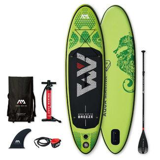 Aqua Marina SUP Board Breeze 275x76x12 cm groen