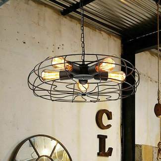 Hanglamp in industrieel design