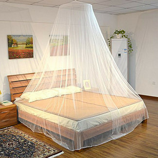XXL klamboe voor éénpersoonsbed