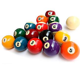 Snookerballen, complete set, 57,2 mm