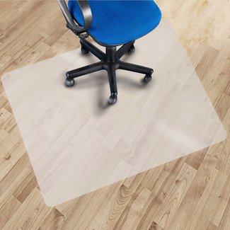 Vloerbeschermer 120 x 130 cm vloerbeschermingsmat