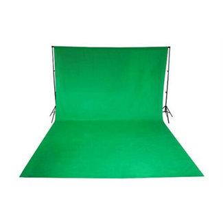 Fotostudio achtergronddoek van katoen 3 x 6 meter groen